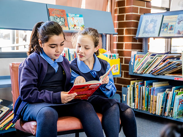 St Michael's Primary Library